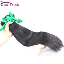 under dye hair Australia - Popular 2 Bundles Raw Unprocessed Indian Hair Silky Straight Indian Remi Hair Weave Wholesale Natural Human Hair Weft Can Be Dyed