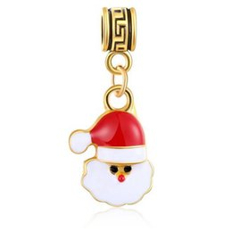 Wholesale Alloy Metal Santa Sleigh Charms Enamel Christmas Floating Locket Charms For Glass Locket Home & Garden Hot Sale 20pcs!