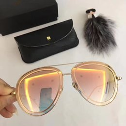 0d2c094cd91 631 Linda Farrow Luxury Fashion Popular Sunglass With Coating Mirror Lens  UV Protection Women Brand Designer Vintage Oval Frame Top Quality