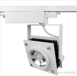 pendant lighting kits. led track lights 30w cob square decorative kitchen rail lamps for shoes clothes shop store lighting pendants kits pendant