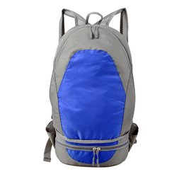 $enCountryForm.capitalKeyWord Australia - Fashion Blue And Gray Backpack Duffel Bags Travel Large Capacity Outdoor Package Mountaineering Package Foldable Backpack Multifunction Ruck