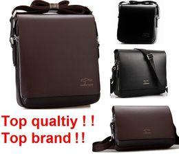 $enCountryForm.capitalKeyWord Canada - Wholesale-Freeshipping 2016 Rushed Zipper Handbags Men Messenger Bags, Big Promotion Genuine Kangaroo Leather Shoulder Bag Man Briefcase 2