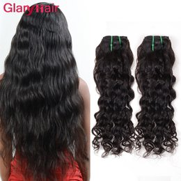 ExtEnsion hairstylEs online shopping - Most Popular Hairstyles Water Wave Human Hair Bundles Cheap Peruvian Hair Weave Extension Raw Brazilian Virgin Hair Bundles pieces per