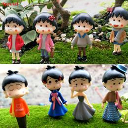 $enCountryForm.capitalKeyWord Australia - 8pcs Cartoon Anime Maruko Figures Fairy Garden Miniatures Bonsai Tools Terrarium Dollhouse Toys Zakka Home Decor Accessories Jardin Gnomes
