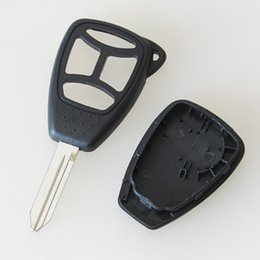 Shell Case Chrysler NZ - Auto key replacement cover for chrysler 300 4 button remote key case shell with big button