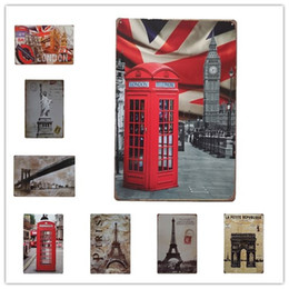 $enCountryForm.capitalKeyWord NZ - USA London Paris Big Ben Statue of LibertyVintage sign home Bar Pub Hotel Restaurant Coffee Shop home Decorative Retro Metal Poster Tin Sign