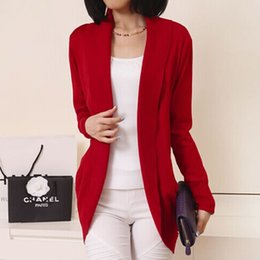 Red Open Cardigan Sweater Online | Red Open Cardigan Sweater for Sale