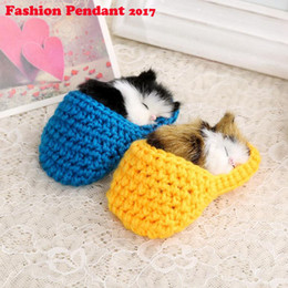 super cute cat plush NZ - Super Cute Simulation Sounding Shoe Kittens Cats Plush Toys Kids Appease Doll Christmas Birthday Gifts pendant