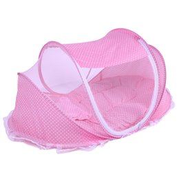 online shopping High quality Baby Mosquito Net Baby Infant Children Tent Mattress Cradle Bed Canopy Cushion Pillow EMS shipping
