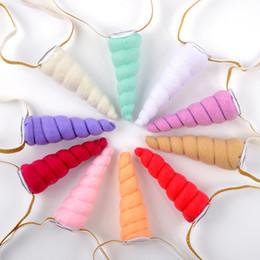 Headband Kits Australia - Girl Hairs Hoop Baby Non Woven Fabric Hair Band Children Unicorn Trendy Game Prizes Headband New Arrive 7bj C R