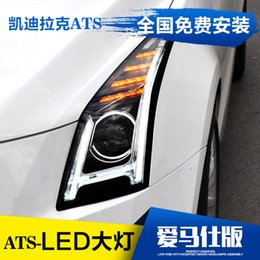 FOR Dragon Cadillac ATS LED lens headlight assembly modified low raised with day lights ATS-L headl&s ats lighting on sale  sc 1 st  DHgate.com & Discount Ats Lighting   2017 Ats Lighting on Sale at DHgate.com azcodes.com