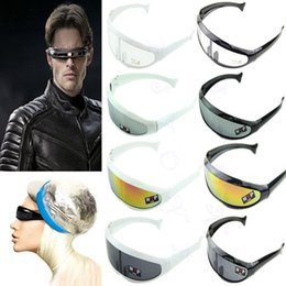 918b9db5a402 Wholesale-Cool New Stylish X -Men Robot Personality Sunglasses UV400 Lenses  Protection
