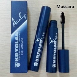 Barato Kit Profissional De Chicote-New Kryolan Eye Mascara Highlighter Maquiagem profissional 3D mink Lashes cosméticos Eyelahshes Elongation Curling grossa Alongamento Kit