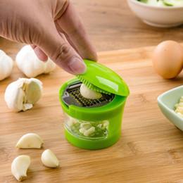 $enCountryForm.capitalKeyWord Canada - New multifunction Plastic Garlic Press Presser Crusher Slicer Grater Dicing Slicing and Storage Kitchen Vegetable Tools