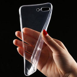 $enCountryForm.capitalKeyWord Australia - Transparent Ultra Thin Soft TPU Clear Phone Case For iPhone 7 6s Plus Crystal Clear Silicone Back Cover for Samsung S7 S6 Edge
