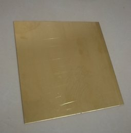 brass sheets Canada - B2, H62 Brass Sheet Plate Industry DIY Copper Material , 2pcs lot