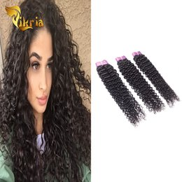 Wholesale jerry cans for sale - Group buy Remy Jerry Curly Brazilian Virgin Hair Indian Peruvian Malaysian Weave Natural Black Hair Extensions Can Be Dyed Bleached Hair Wefts