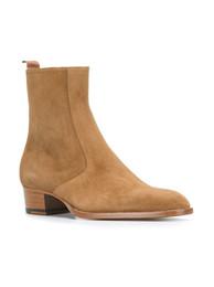 Chelsea hombres botas de cuero moda botas de vaquero simple personalidad 2017 Europa y los Estados Unidos tendencia juvenil Martin botas