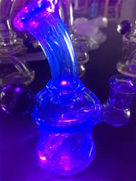 $enCountryForm.capitalKeyWord NZ - kgUv Glass Material Mini Glass Bong Heady Smoking Pipes Oil Rig 10mm Glass Bowl
