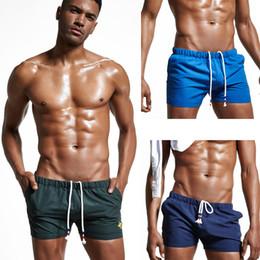 Maillots de bain pour hommes de la marque Sexy Beachwear pour hommes Shorts pour la maison Summer Beach Trunk Board Short de loisirs Fashion boxeurs de bain sexy taille M, L, XL, XXL en Solde