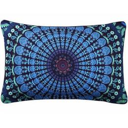 Textile Dyeing UK - Print Cushion Cases Sofa New Arrival Custom Rectangle Decorative Pillow Case Throw Pillow Cover Case Pillowcase Home Textiles 2017