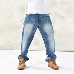 6be0bce9204bb Fat Man Jeans Canada - Wholesale-2014 new simple and comfortable jeans plus  size jeans