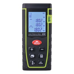 Ingrosso 7-Key 40M / 80M LCD digitale Laser Distance Meter Range Finder Misura diastimeter BI529 / 530