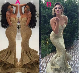$enCountryForm.capitalKeyWord Australia - Long Sequin silver yellow Mermaid Evening Dress Simple spaghetti strapless Evening Dresses Cheap Formal Gowns For Dinner Party Dress