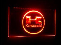 Red White Kawasaki Canada - TR28 Kawasaki Racing Motorcylce beer bar pub club 3d signs LED Neon Light Sign home decor crafts