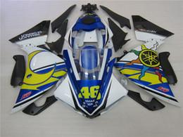 $enCountryForm.capitalKeyWord Canada - Injection molded fairing kit for Yamaha YZF R1 09 10 11-14 blue white black fairings set YZF R1 2009-2014 OY01