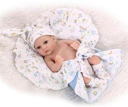 Realistic silicone mini dolls online shopping - 11 quot Realistic Reborn Baby Dolls Newborn Lifelike Soft Silicone Vinyl Dolls Mini bath toy boys dolls
