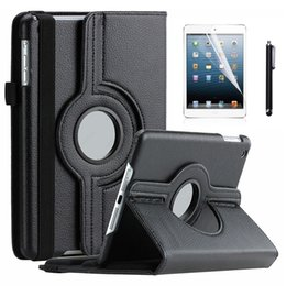 apple ipad air smart cover leather 2019 - Wholesale- 360 Rotating Stand PU Leather Flip Case For iPad Air 1st Generation Smart Cover Case w Auto Wake & Sleep w Sc