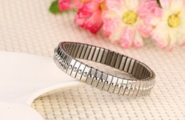 $enCountryForm.capitalKeyWord Canada - Meaeguet Women Jewelry Bracelets 316L Stainless Steel Plating Gold Color Stretch Bangle Elastic Stretch Bracelet Pulseiras BR-258