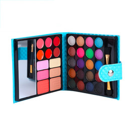 Professional eyeshadow Palette sale online shopping - Colors Eyeshadow Palette Eye Shadow Professional with Cosmetic Leather Case Pattern New Sale