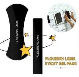 phone holder car anti slip 2019 - 2017 FLOURISH LAMA Powerful Strong Holder Stick Glue Anywhere Wall Sticker Anti Slip Washable Repeatedly Car Mobile Phon