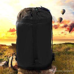 $enCountryForm.capitalKeyWord Canada - Outdoor Camping Sleeping Bag Nylon Lightweight Compression Stuff Sack Bag Outdoor Camping Hiking Free DHL TNT Fedex