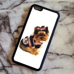 $enCountryForm.capitalKeyWord UK - Yorkshire Terrier Puppy Dog 17 Phone Cases For iPhone 6 6S Plus 7 7 Plus 5 5S 5C SE 4S Back Cover
