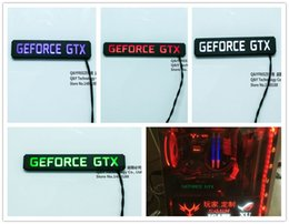 $enCountryForm.capitalKeyWord Canada - Wholesale- FREEZEMOD special graphics card LED lighting with multi color. XYD-GEFORCE GTX