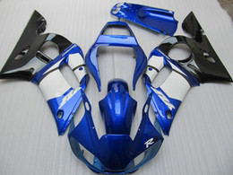 Bodywork Yamaha R6 NZ - Fairing kit for Yamaha YZF R6 98 99 00 01 02 blue white black bodywork fairings set YZFR6 1998-2002 OT01