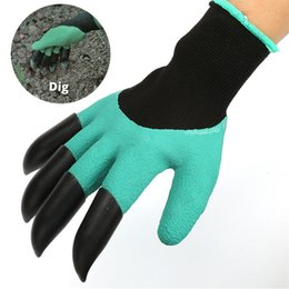 ABS claws gloves supplies garden plant digging protective safety party de DS