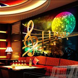 Large Abstract Rocku0027n Roll Music KTV 3D Room Wallpaper Landscape Photo  Wallpaper For Wall 3 D Livingroom Mural Rolls Decor Decal Cheap Wall Mural  Wallpaper ...
