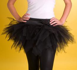$enCountryForm.capitalKeyWord Australia - Free shipping! White Black Red Mini tutu Women Skirt Fashion Skirts Sexy clearest gauze Skirt Yarn skirt Sexy Lingerie 8510