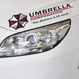 China Cool Resident Evil The Umbrella Chronicles Car sticker covers on car lights brow decal universal car styling stickers suppliers