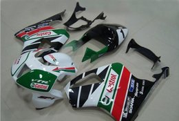 rc51 fairing black Canada - 3 free gifts Fairings For Honda VTR1000 RC51 SP1 SP2 00 01 02 03 04 05 06 ABS Motorcycle Fairing Kit Bodywork White green AZ3