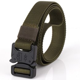 Inner Belt Canada - New style hard tactical belt, army fan style, outdoor sports leisure belt, nylon belt, 2.5CM