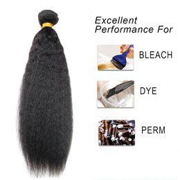 afro hair extensions bundles 2019 - 8A Grade Mink Brazilian human hair Afro kinky Straight hair bundles 8-20inches Unprocessed Indian Peruvian Malaysian Hum