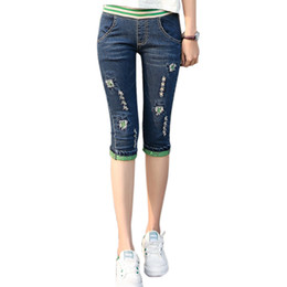 Discount Denim Capri Jeans | 2017 Denim Capri Jeans on Sale at ...