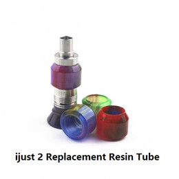 $enCountryForm.capitalKeyWord Canada - Ijust 2 Replacement Resin Tube I just 2 Tank Atomizers Tubes Electronic Cigarette Best Price DHL Free