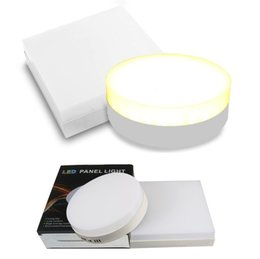 Surface mounted online shopping - Surface Mounted Led Panel Lights W W W W Led Ceiling Panel Light SMD Hallway Down Lamp AC V Drivers