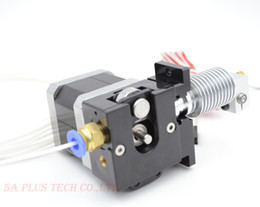 plastic bulldogs UK - Freeshipping Best Price 3D Printer Bulldog Plastic Extruder For 1.75mm 3.00mm Filament with V6 J-head MK8 Remotely Proximity